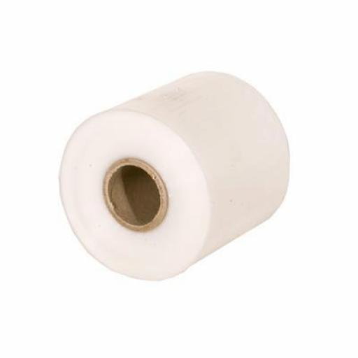500 Gauge Polythene Lay Flat Tube 4 inch (102 mm) x 168m (2 roll Pack)
